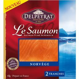 Le saumon fumé Norvège