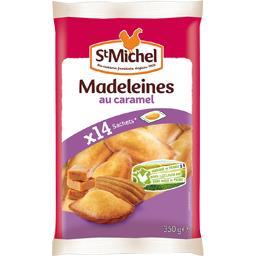 St Michel Madeleines au caramel le paquet de 14 - 350 g