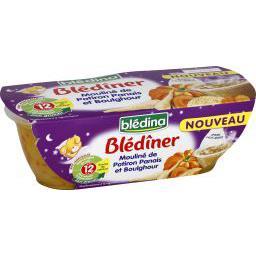 Blédîner - Mouliné de potiron panais et boulghour, d...