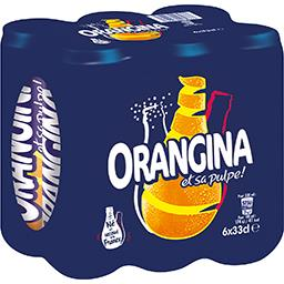 Orangina Soda aux fruits et sa pulpe