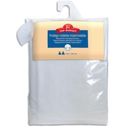 Protège matelas 140X190 cm blanc