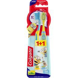 Colgate Brosse à dent 6 + ans Minions souple la brosse à dents