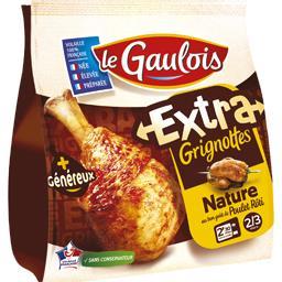 Extra Grignottes nature au bon goût de poulet rôti