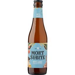 Bière blanche aromatisée