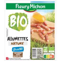 Fleury Michon Poitrine et épaule de porc de qualité supérieure les 2 barquettes de 60 g