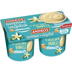 Gourmand & Végétal - Le Délice Vanille au lait d'ama...