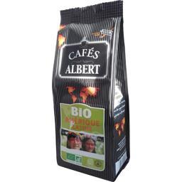 Cafés Albert Café moulu Amérique Latine BIO le paquet de 250 g