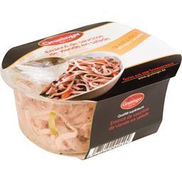 Emincé de saucisse de viande en salade GRUNINGER 200g