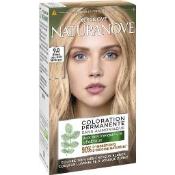 Naturanove - Coloration 9,0 blond très clair lumineu...