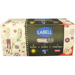 Assortiment Teeny Box serviettes et protège lingerie