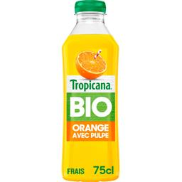 Jus d'orange avec pulpe 100% pur BIO