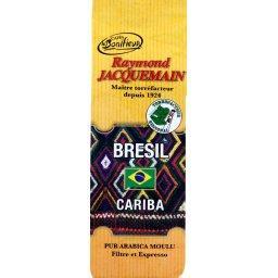Cariba, café moulu pur arabica du Brésil
