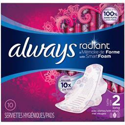 Serviettes hygiéniques Radiant long taille 2