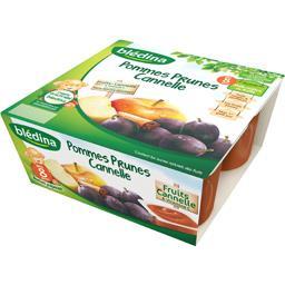 Pommes prunes cannelle, dès 8 mois