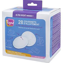 Coussinets d'allaitement ultra absorbant spécial nuit