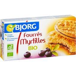 Fourres Aux Myrtilles Bio Bjorg,BJORG,le paquet de 175g