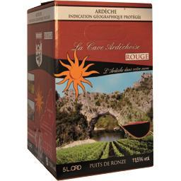 Vin de pays de l'Ardèche, vin rouge