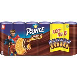 LU LU Prince - Biscuits fourrés goût chocolat au blé compl...