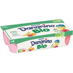 Danonino - Spécialité laitière aux fruits BIO