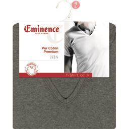 T-shirt manche courte col V taille 6 gris