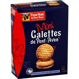 Mini galettes de Pont-Aven