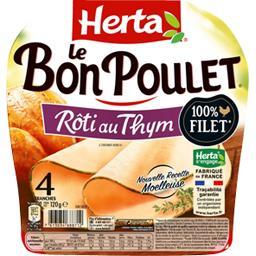Le Bon Poulet - Filet de poulet rôti au thym