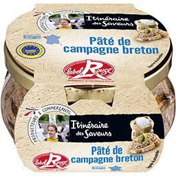 Pâté de campagne breton Label Rouge