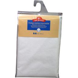 Protège matelas 160X200 cm blanc
