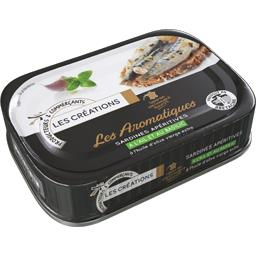 Les Aromatiques Sardines Apéritives à l'ail et au ba...