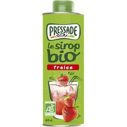 Le Sirop BIO fraise
