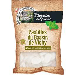 Pastilles du Bassin de Vichy, arôme naturel de menth...