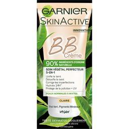 Garnier Skin Active - BB crème soin végétal perfecteur 5en1 ... la boite de 50 ml