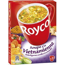 Soupe à la vietnamienne petits légumes, nouilles & c...
