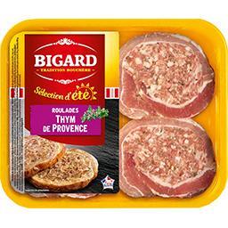Roulades de porc au thym de Provence