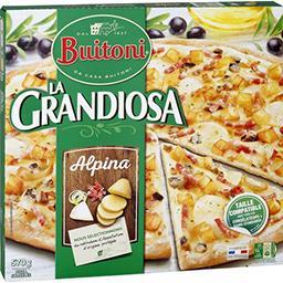 Pizza mozzarella pesto tomates cerise - La Grandiosa