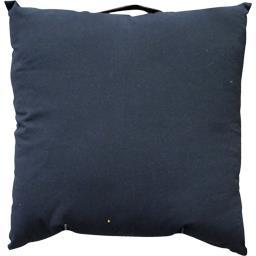 Coussin de sol grande dimension 60X60 cm noir