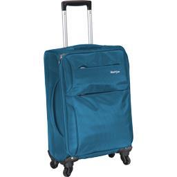 Valise souple bleue 61 cm