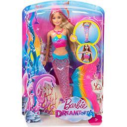 Barbie Poupée couleurs et lumières