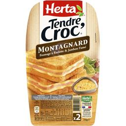Tendre Croc' - Croque-monsieur Montagnard