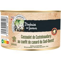 Cassoulet de Castelnaudary au confit de canard du Su...