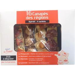 Canapés Apéritif des Régions 4 variétés