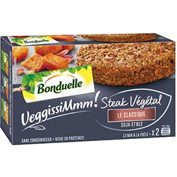 Bonduelle VeggissiMmmm! - Steak végétal Le Classique soja et b...