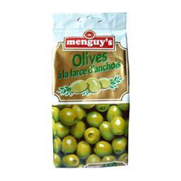 Olives à la farce d'anchois