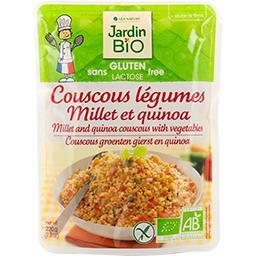 Couscous légumes millet et quinoa BIO