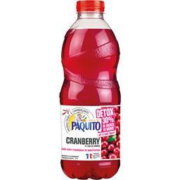 Boisson Cranberry à l'eau de source Détox
