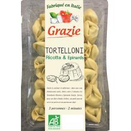 Tortelloni ricotta-épinards BIO