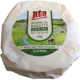 Beurre de baratte demi-sel de l'Île de Ré
