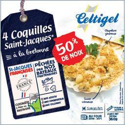 Coquilles Saint-Jacques à la bretonne