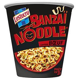 Banzaï Noodle saveur bœuf