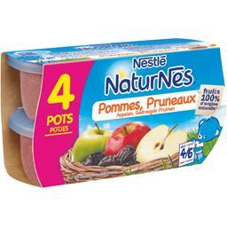 Pommes pruneaux, dès 4-6 mois